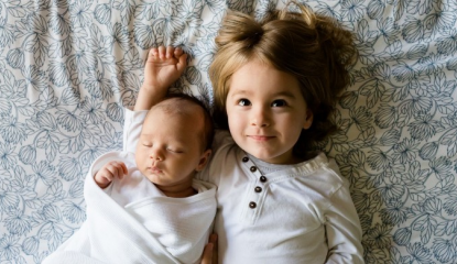 How to make toddler and a newborn get along?